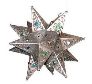 Mexican-tin-star-light-rental