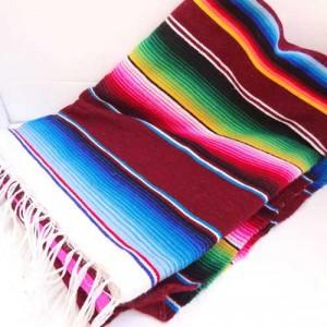 serape blanket rentals vancouver, mexican party rental decor vancouver