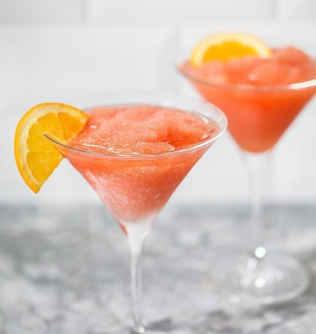 Summer 2019 Cocktail Trends: Even Better when Frozen!